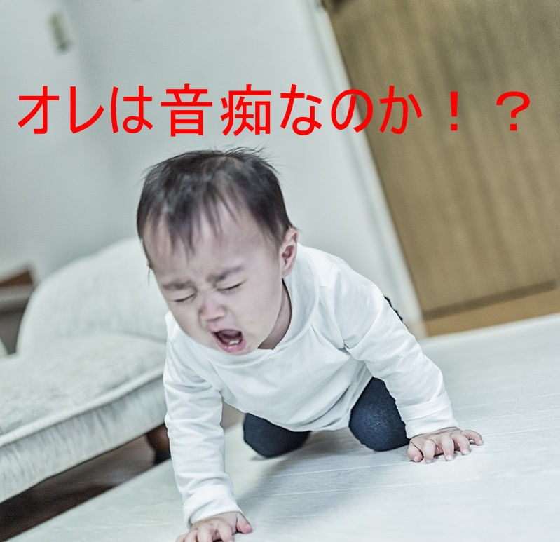 歌に自信を失う赤ちゃん
